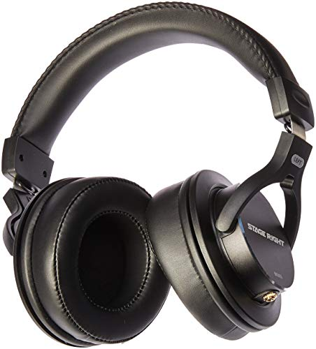 Monoprice Multimedia Studio Reference Monitor Headphones - 53mm | Closed-Back - Stage Right Series