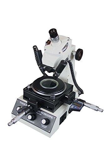 Radical Toolmaker Measuring Industrial Measurement Microscope w Digital Micrometer 1um