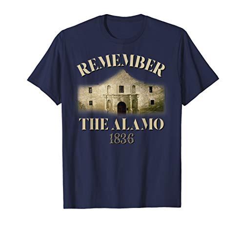 Remember The Alamo Souvenir History T-shirt Alamo T-Shirt