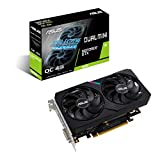 ASUS Dual NVIDIA GeForce GTX 1650 MINI OC Edition, Scheda Video Gaming Compatta, HDMI, DisplayPort, DVI-D, Striscia LED, Ventole AxialTech, Tecnologia 0 dB e Tecnologia Auto-Extreme
