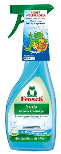 Frosch, Soda limpiador multiusos, 500 ml (paquete de 8)