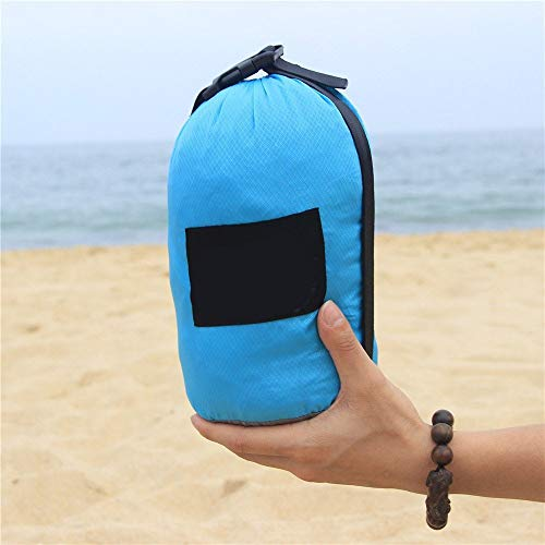 Gaodpz Parachute Tuch Nylon wasserdichte Strandmatte Ultradünnes Ultraleichte Trocken Große Picknick-Matte-Zelt-Matten (Size : 280 * 300cm)