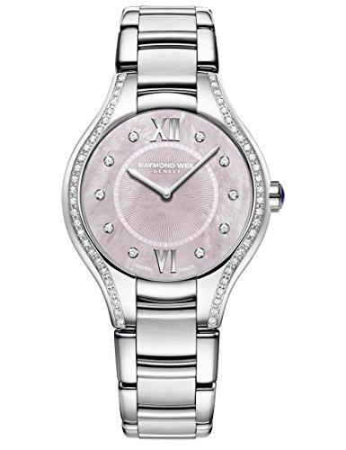 Raymond Weil 5132-STS-00986 Noemia - Reloj analógico de cuarzo para mujer, color plateado