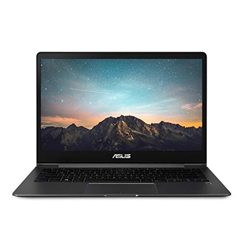 "Asus ZenBook 13 Ultra-Slim Laptop, 13.3"" Full HD Wideview, 8th Gen Intel Core I5-8265U, 8GB LPDDR3, 512GB PCIe SSD, Backlit KB, Fingerprint, Slate Gray, Windows 10, UX331FA-AS51,Slate Grey"
