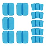 Replacements Gel Pads for EMS ABS Hips Trainer Buttock Muscle Massage Replacement Gel Sheets,Special for EMS Butt Muscle Trainer, Butt Toner,Buttocks Trainer Accessories (5 PCS/Set,5 Sets/Pack)