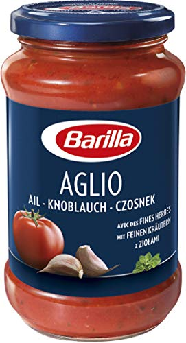Barilla Pastasauce Aglio - 3er Pack (3 x 400 g)