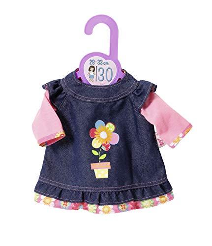 Zapf Creation 870761 Dolly Moda Jeanskleid Puppenkleidung 28-33 cm