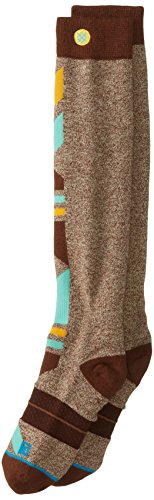 Stance heren sokken bruin Men snowboard sokken Merino Wool Light Cushion Brown Wasatch