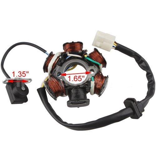 Magneto Stator 6-coil 5-wire for 50cc 70cc 90cc 110cc 125cc ATV Quad Go Kart