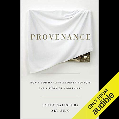 Provenance audiobook cover art