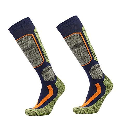 Unisex lange dikker warme sokken voor de winter outdoor wandelen, skiën, spelen snowboard sportsokken