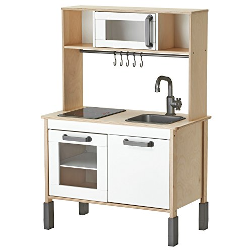 Ikea Duktig Mini-kitchen, Birch Plywood, White