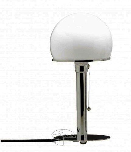 TECNOLUMEN WA24 wagveld lamp met metalen schacht Bauhaus lamp Bauhausleuchte