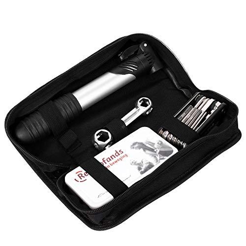 Kingwon Kits de réparation d'outils de Scooter électrique pour Xiaomi Mijia M365 Ninebot avec Mini Pompe Tournevis Outil clé avec Sac