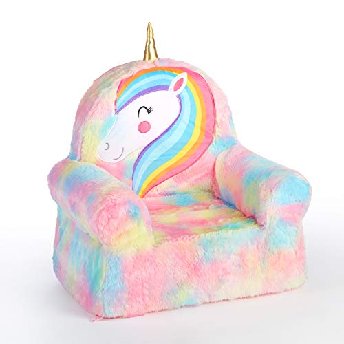 Heritage Kids Figural Foam Chair Unicorn, Ages 3+