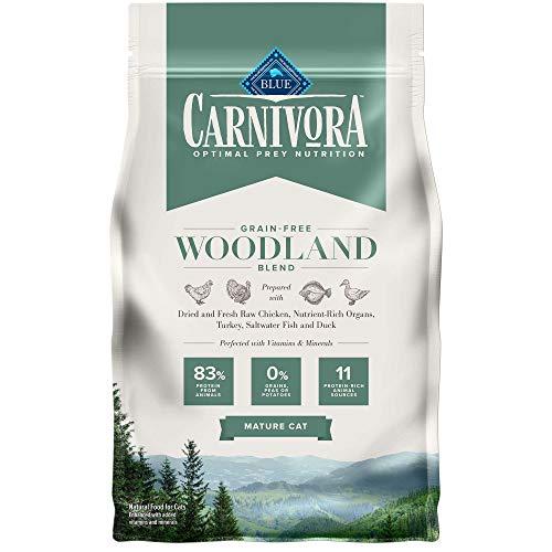 Blue Buffalo Carnivora Woodland Blend Mature Cat Dry Cat Food