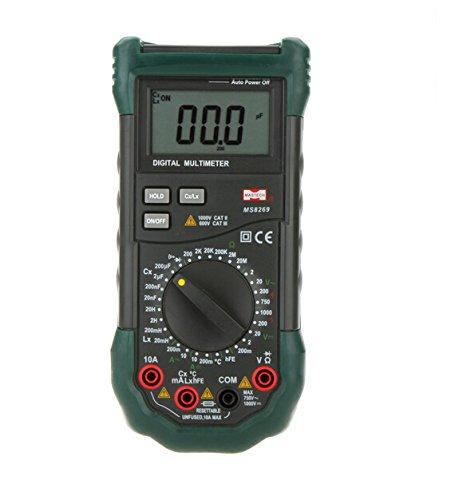MASTECH MS8269Handheld Digital Multimeter LCR-Messgerät Widerstand Kapazität Induktivität & Temperatur Tester