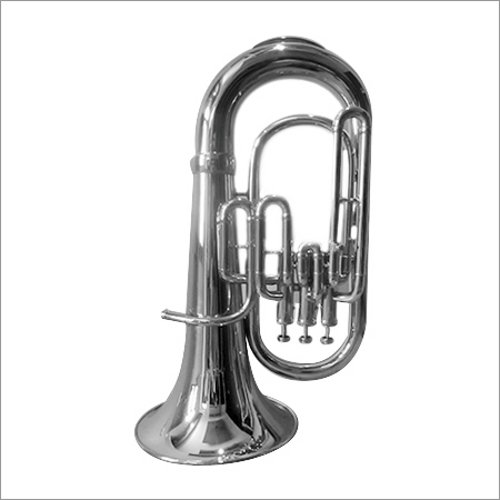 Hillman's Silver Euphonium Musical Instrument