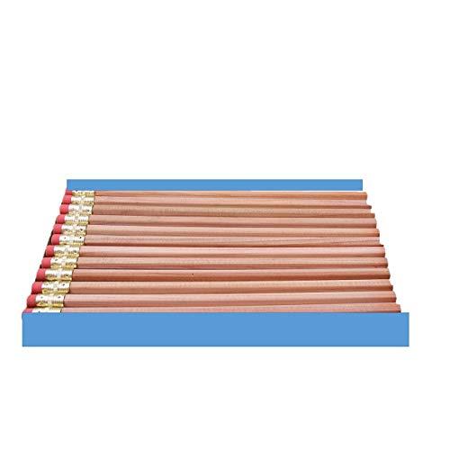 Moon Products Bare Wood Natural Premium Pencils Number 2 HB (36 pencils)