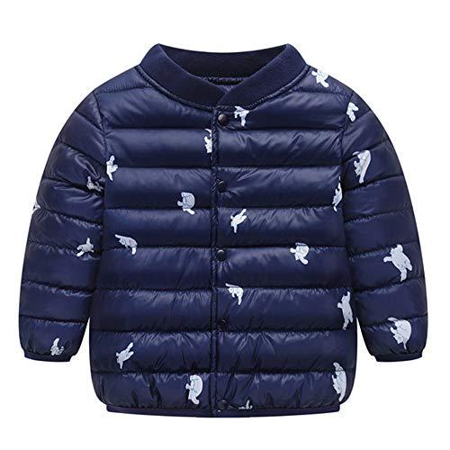 Luoluoluo gewatteerde jas voor 1-4 jaar baby jongens meisjes mantel van katoen voorjaar herfst winter jas kleine kinderen warme kleding winterjas dierenprint trenchcoat windjas donsjas
