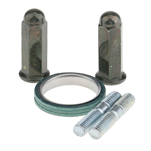 MagiDeal Metall Auspuffdichtung Set für GY6 50cc 125cc 150cc Roller, Auspuffdichtung Außendurchmesser: 30mm