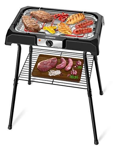 Churrasqueira Elétrica Mondial, Grand Steak & Grill II, 127V, Preto, 2000W - CH-06