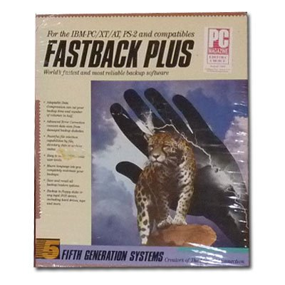 Fastback Plus V 2.09 for Ibm Pc Xt At Ps-2 and Compatibles (Old Version)