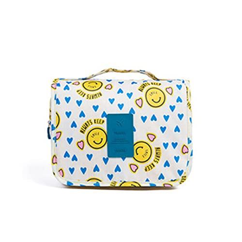 Heiqlay borsa da toilette viaggio borsa toilette uomo borsa toilette donna borsa toilette impermeabile accessori viaggio per uomo e donna Articoli da viaggio outdoor, Giallo, 17x26x9cm