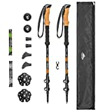 Cascade Mountain Tech Trekking Poles - Aluminum Hiking Walking Sticks with Adjustable Locks...