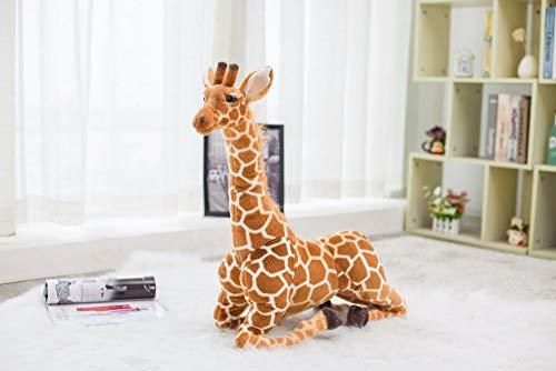 CGDZ Riesengroße Giraffe Plüschtiere Süßes Kuscheltier Weiche Giraffe Puppe Geburtstagsgeschenk Kinder Spielzeug 1m