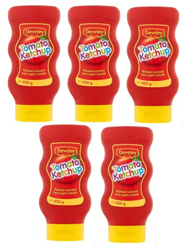 Develey McDonald's Ketchup 450g (5er PACK)