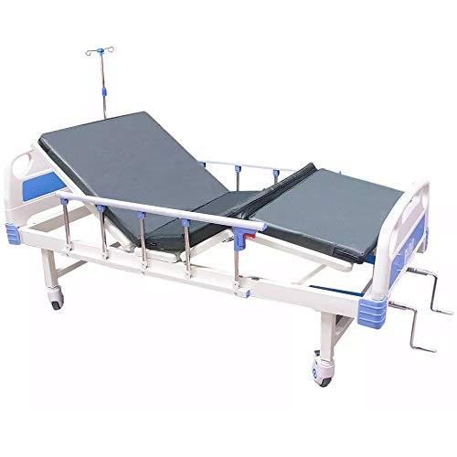 Nanofort Cama De Hospital Manual 2 Posiciones Ajustable Frenos Soporta...