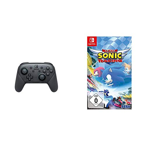Nintendo Switch Pro Controller & Team Sonic Racing [Nintendo Switch]