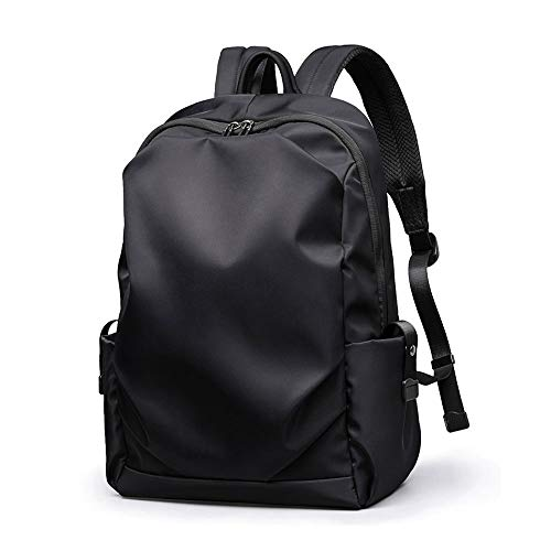 DSAN Laptop Backpack 15.6 Inch Anti-Theft High School Backpack Waterproof Lightweight Traveling Business Bag Nylon Business Rucksack-Black,gray