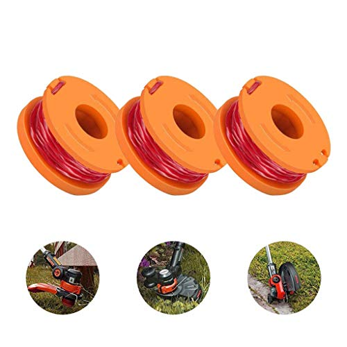 Read About N/X Replacement Trimmer Spool Line for Worx, 3 Pack (3 Pack Grass Trimmer Line)