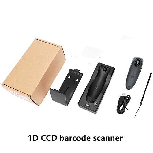 TQ 3 en 1 sans Fil Bluetooth Filaire 2D QR 1D CCD Wall-Mounted Portable Barcode Scanner entrepôt de Windows iOS Android,1dbluetoothscanner