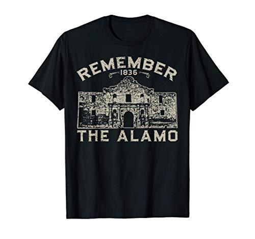 Remember the Alamo Souvenir History San Antonio Texas T-Shirt