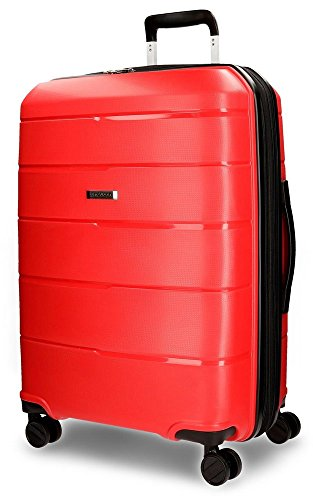 Wind Suitcase, 65 cm, 62 liters, Red (Rojo)