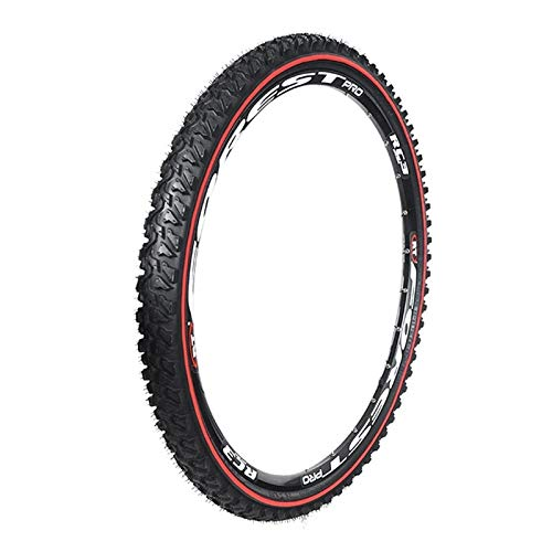 LXRZLS Neumático Exterior de Bicicleta 24 26 26 27.5 Pulgadas de Bicicleta de montaña Cross Country 1.95 2.1 2.35 Ruedas Grandes de Patrones (Color : 24X1.95)