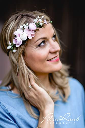 E3 Boho Festival Haarschmuck, Oktoberfest, Braut, Dirndl, Haarkranz,Blütenschmuck,Blumenkranz,Haarkranz, Bridal Headband, Flower, Headpieces