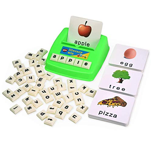 BOHS Literacy Wiz Fun Game -Lower Case Sight Words - 60 Flash Cards - Preschool Language Learning Educational Toys