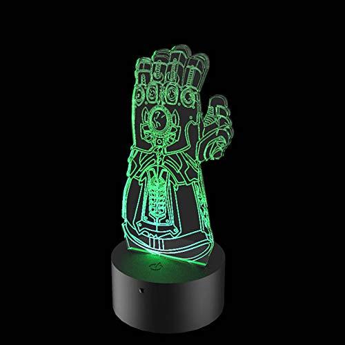 Luminária de Led - Manopla do Infinito Thanos