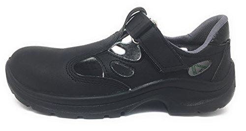 Vidar Sicherheitssandale 06113 schwarz S1 (41)