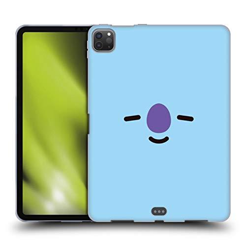 Official BT21 Line Friends KOYA Basic Faces Soft Gel Case Compatible for Apple iPad Pro 11 (2020)