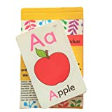 SOE Store Alphabets Flashcards for Kids Travelfriendly Flashcards Learn Alphabets ABC Easily with These Laminated and Waterproof flashcards. Educational Travel Toys for Kids