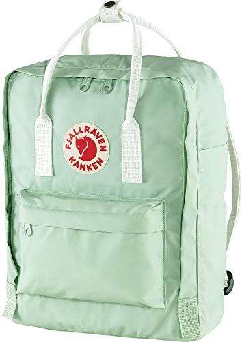 Fjällräven Kånken Backpack - Mint Green-Cool White, One Size