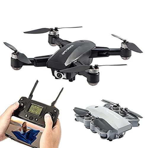 DCLINA Drone GPS con Fotocamera 6K HD 5G WiFi FPV Droni Quadcopter Senza spazzole Flusso Ottico Poaitioning Intelligent Follow Gesture Shooting One Key Return