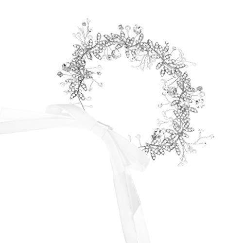ABOOFAN Cinturón de Diamantes de Imitación de Cristal Nupcial Cinturón de Fajín...