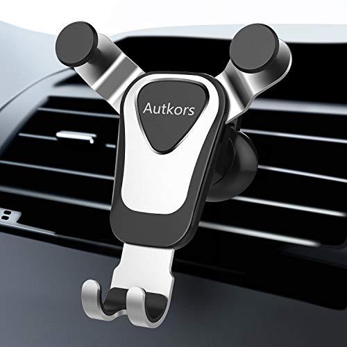 Autkors Handyhalterung Auto, Lüftung KFZ Handy Halterung Autohalterung 360° Drehbar Handy Halter für Auto kompatibel mit iPhone 11 Pro/11/XS/XR/X, Samsung S10/S9, Huawei usw.
