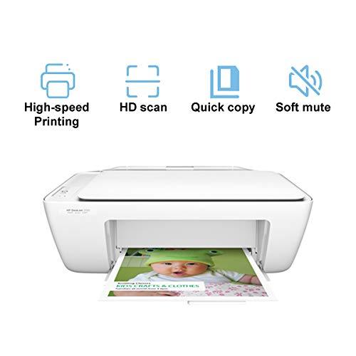 TANCEQI 3-in-1-inkjetprinter, multifunctioneel apparaat (scanner, kopieerapparaat, mute, thermo-inkjet-technologie, USB, A4 / B5 / A6)
